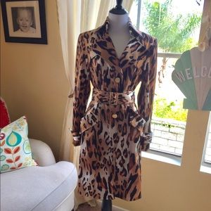 Chico animal print beautiful coat..